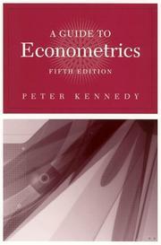 A Guide to Econometrics, 5th Edition