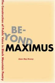 Cover of: Beyond Maximus