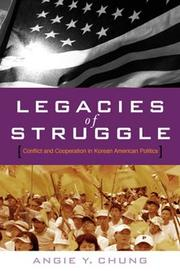 Cover of: Legacies of Struggle