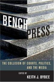 Cover of: Bench Press | Keith Bybee