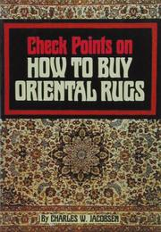 Cover of: Check Points on How to Buy Oriental Rugs
