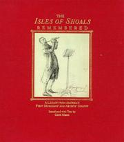 Cover of: The Isles of Shoals Remembered