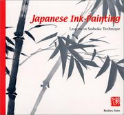Cover of: Japanese ink-painting