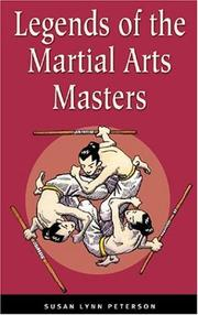 Cover of: Legends of the martial arts masters