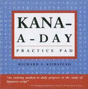 Cover of: Kana-A-Day Practice Pad (Tuttle Practice Pads)