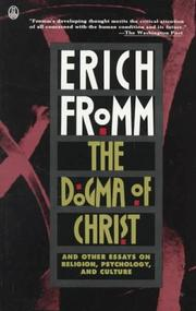 Cover of: The dogma of Christ