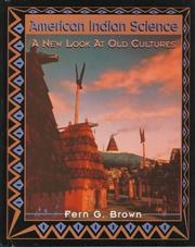 Cover of: American Indian science