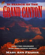 Cover of: In search of the Grand Canyon: Down the Colorado with John Wesley Powell (Redfeather Books.)