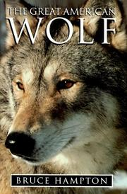 Cover of: The great American wolf
