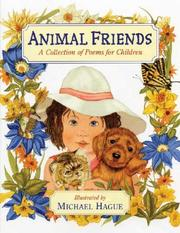 Cover of: Animal Friends: A Collection of Poems for Children