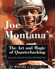 Cover of: Joe Montana's art and magic of quarterbacking
