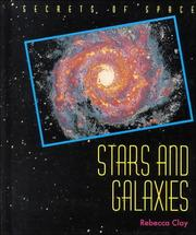 Cover of: Stars and galaxies