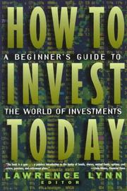 Cover of: How to Invest Today |