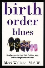 Cover of: Birth order blues