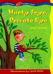 Cover of: Marty Frye, private eye