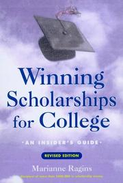 Cover of: Winning scholarships for college | Marianne Ragins