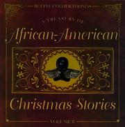 Cover of: A treasury of African-American Christmas stories