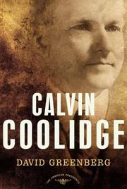 Cover of: Calvin Coolidge | David Greenberg