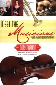 Cover of: Meet the musicians | Amy Nathan
