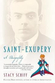 Cover of: Saint-Exupery: A Biography