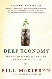 Cover of: Deep Economy by Bill McKibben