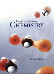 Cover of: An Introduction to Chemistry