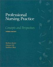 Cover of: Professional Nursing Practice: Concepts and Perspectives