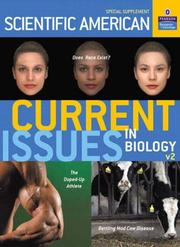 Cover of: Current Issues in Biology