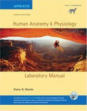 Cover of: Human Anatomy & Physiology Lab Manual, Cat Version, Update with Access to PhysioEx 6.0 (8th Edition) |
