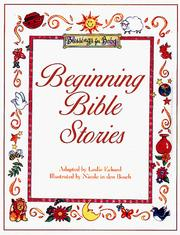 Cover of: Beginning Bible stories