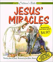 Cover of: Jesus Miracles (Little Children