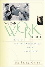 Cover of: We can work it out