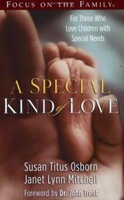 Cover of: A special kind of love
