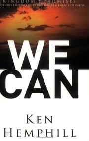 Cover of: We Can (Kingdom Promises)