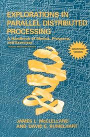 Explorations in parallel distributed processing by James L. McClelland