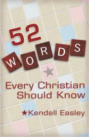 Cover of: 52 Words Every Christian Should Know