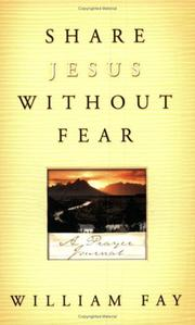 Cover of: Share Jesus Without Fear Journal