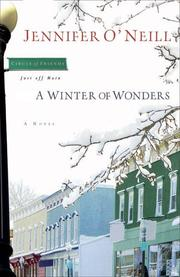 Cover of: A Winter of Wonders (Circle of Friends, Just Off Main)