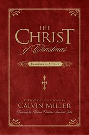 Cover of: The Christ of Christmas