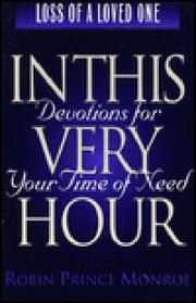 Cover of: Devotions for your time of need