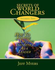 Cover of: Secrets of World Changers Learning Kit