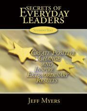Cover of: Secrets of Everyday Leaders Learning Kit
