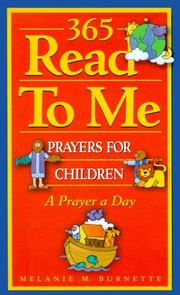 Cover of: 365 Read to Me Prayers for Children