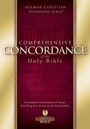 Cover of: Comprehensive Concordance of the Holy Bible
