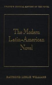 Cover of: The modern Latin American novel