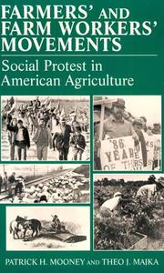 Cover of: Social Movements Past and Present Series - Farmers' and Farm Workers' Movements (Social Movements Past and Present Series)