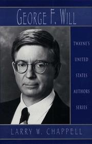 Cover of: United States Authors Series - George Will