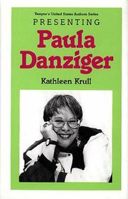 Cover of: Presenting Paula Danziger