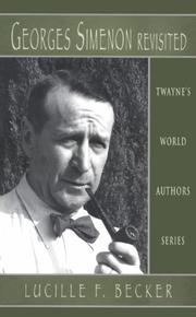 Cover of: Georges Simenon revisited