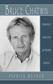 Cover of: Bruce Chatwin | Patrick Meanor